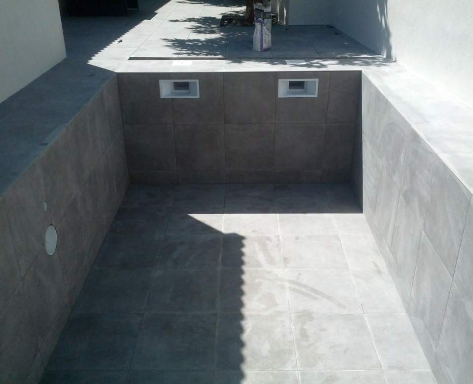 Carrelage interieur piscine