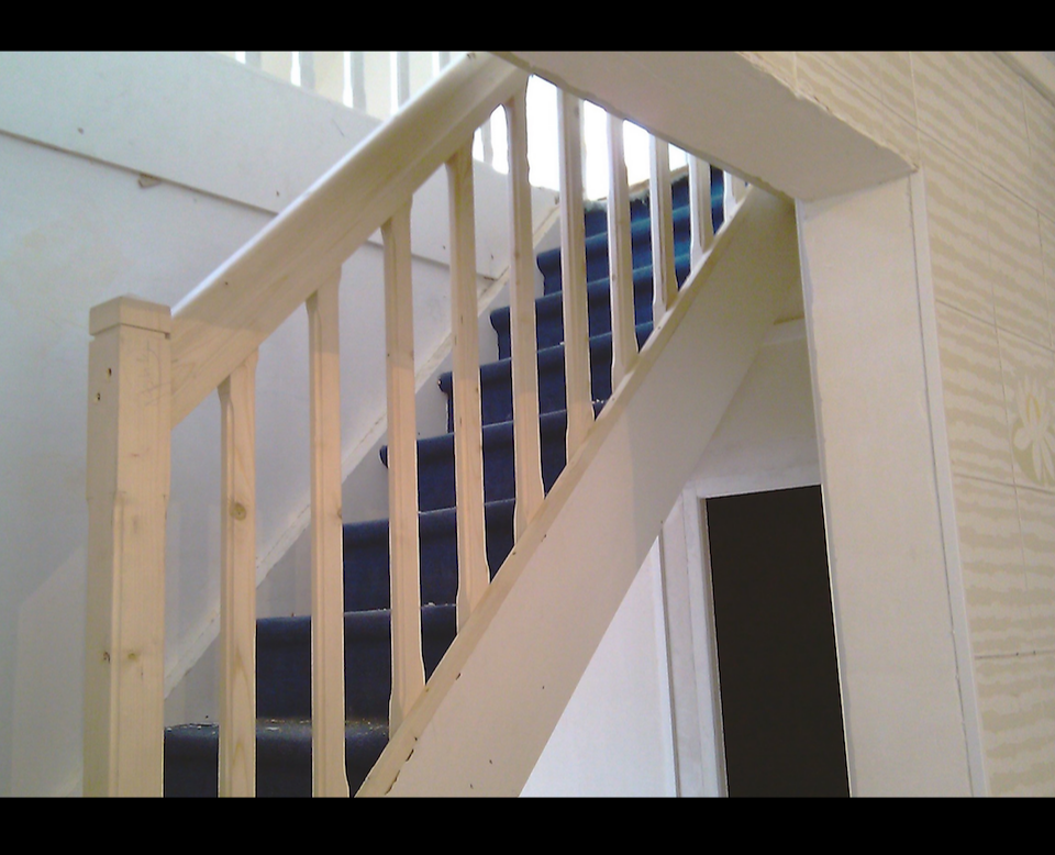 Carvard John Pose - Renovation escalier