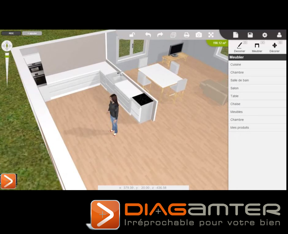 Diagamter - Plan 3D